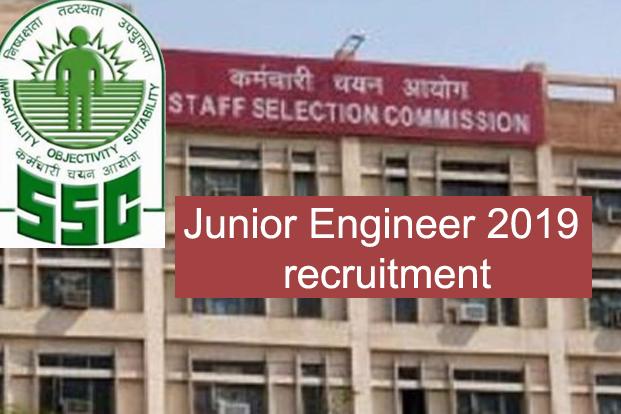SSC Junior Engineer 2019 recruitment
