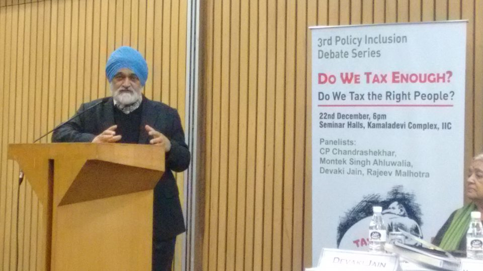 Montek Singh Ahluwalia, Former Deputy Chairman of the Planning Commision.