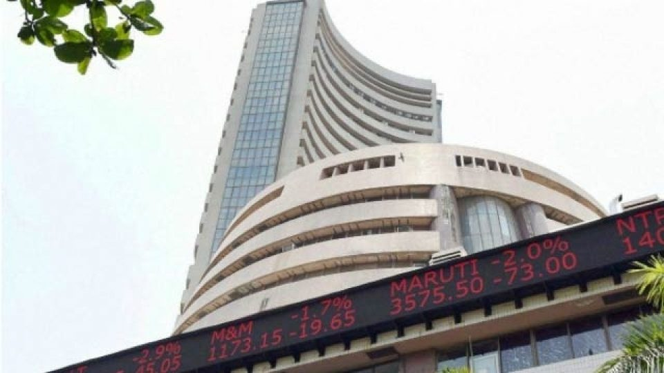Sensex hits record high