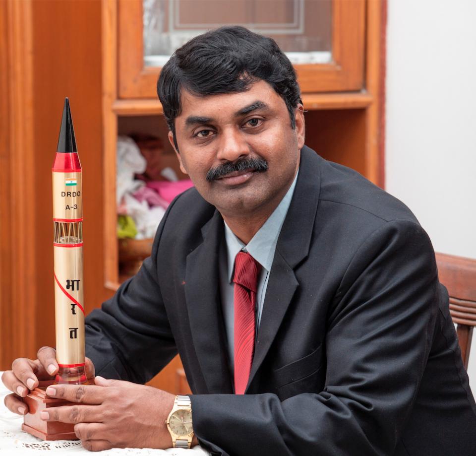 Dr G Satheesh Reddy Chairman of Defense Research & Development Organisation (DRDO)