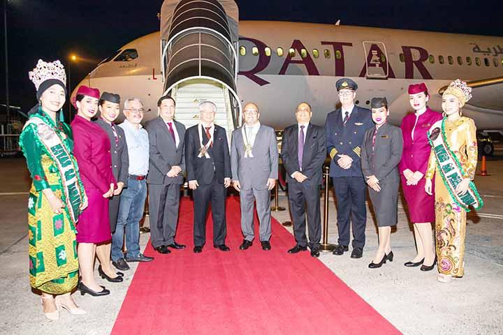 Qatar Airways Now Operates in Davao, Philippines