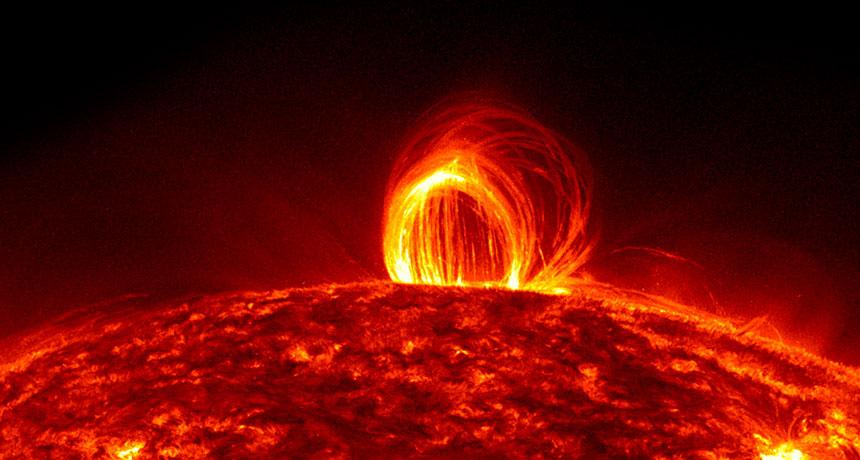 Natural Plasma in Sun