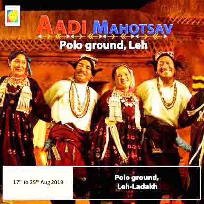 "Leh to Host ""Aadi Mahotsav"""