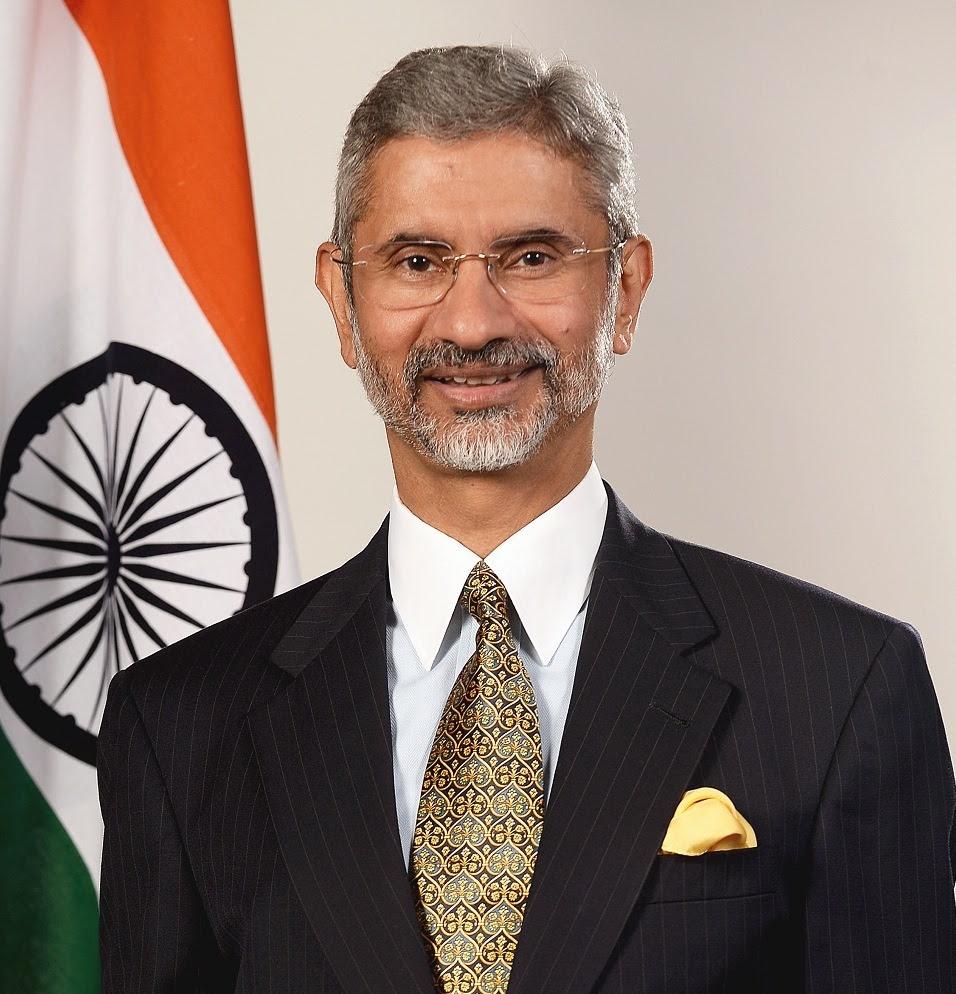 Dr S Jaishankar, External Affairs MInister of India