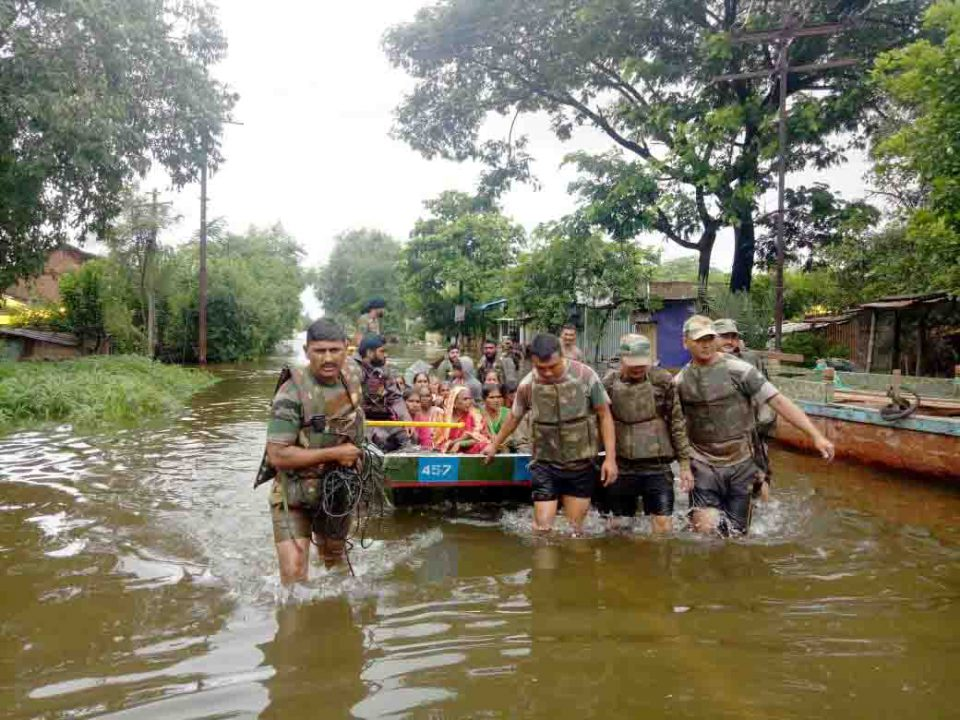 Indian Army Intensifies Flood Relief Operations in Four States