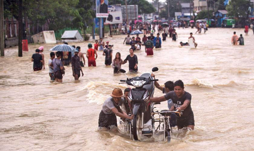 56 Dead due to landslide in Myanmar