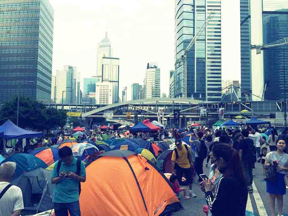 Hong Kong protests enter 10th week