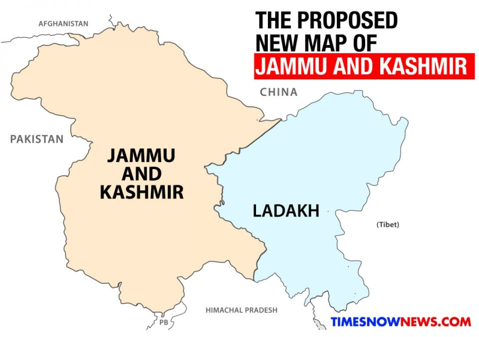 Article 370 to be scrapped, State Spilt into two Parts