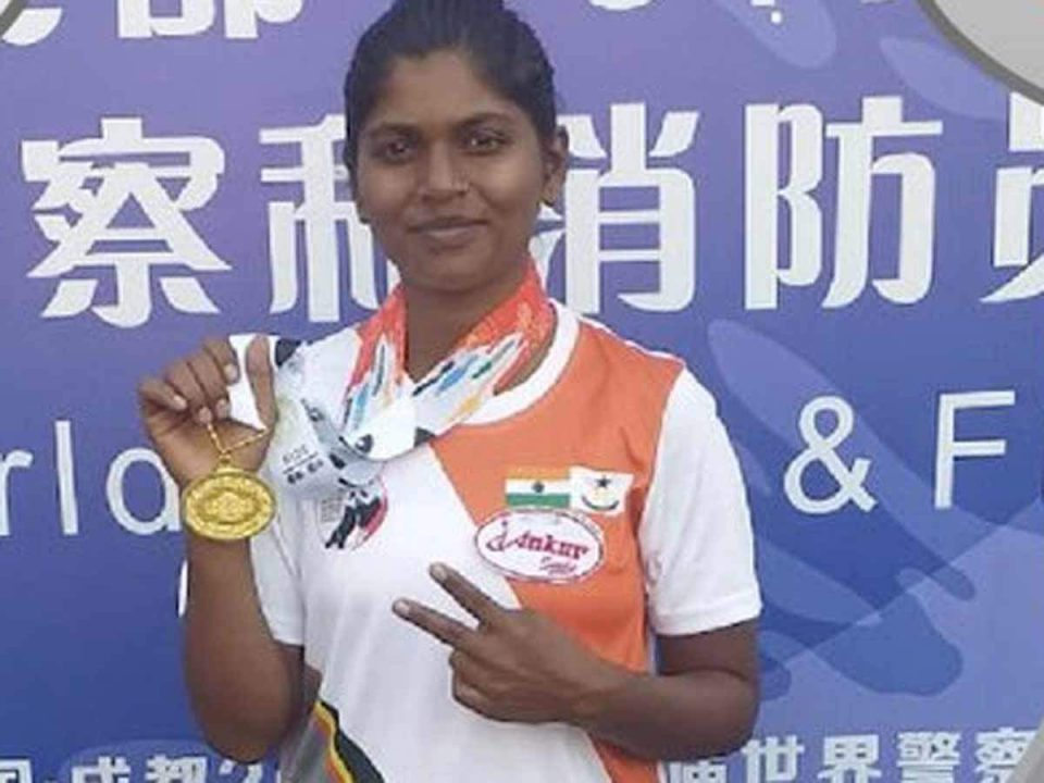 Constable Monali Jadhav bags 3 medals at World Police Games