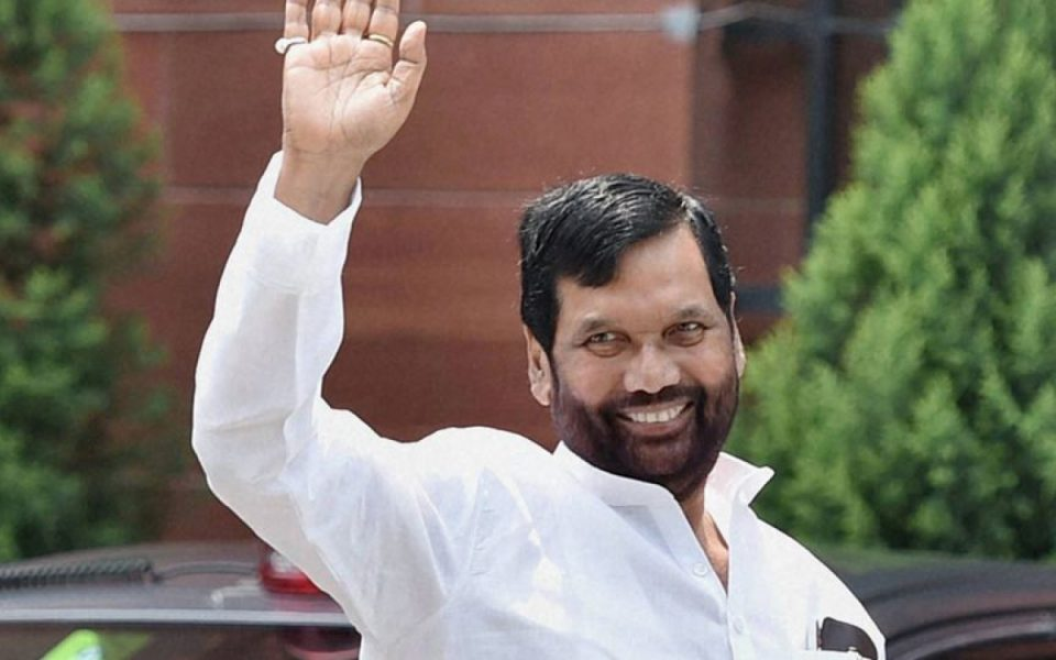Union Minister of Consumer Affairs, Food and Public Distribution Shri Ramvilas Paswan