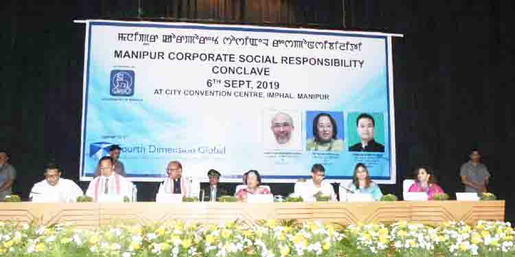 India's First CSR conclave Held at Manipur