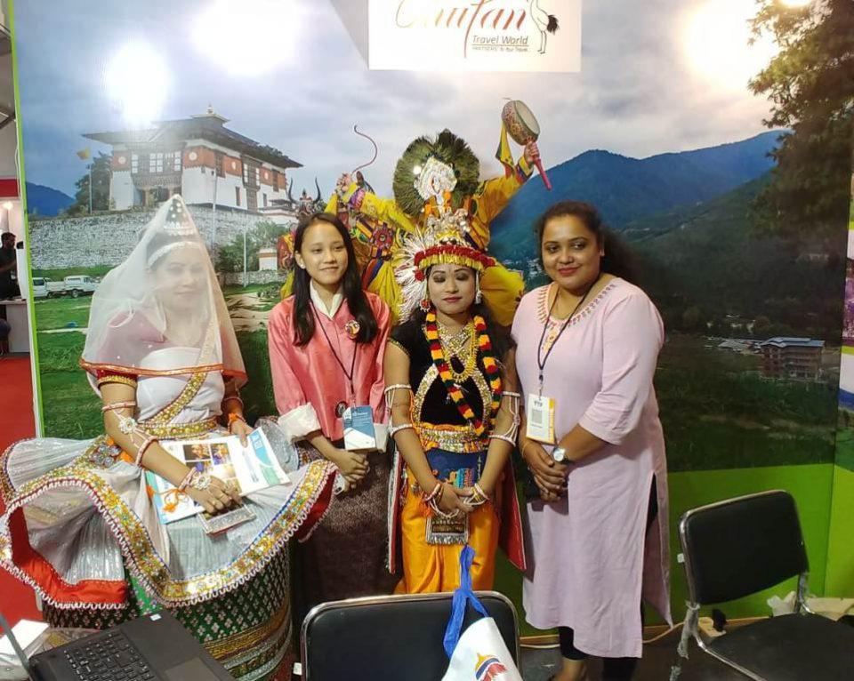 Manipur Tourism Wins best cultural performance award at TTF- Ahmedabad