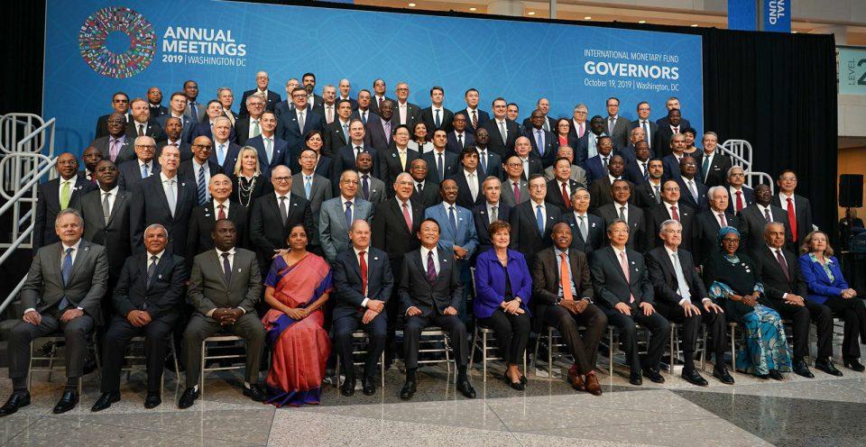 Union Finance Minister Nirmala Sitharaman International Monetary and Financial Committee (IMFC) Plenary Session