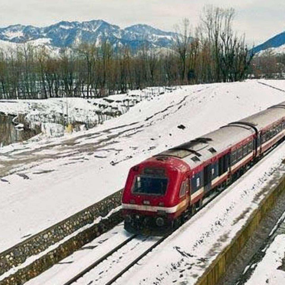 Indian Railways in Srinagar
