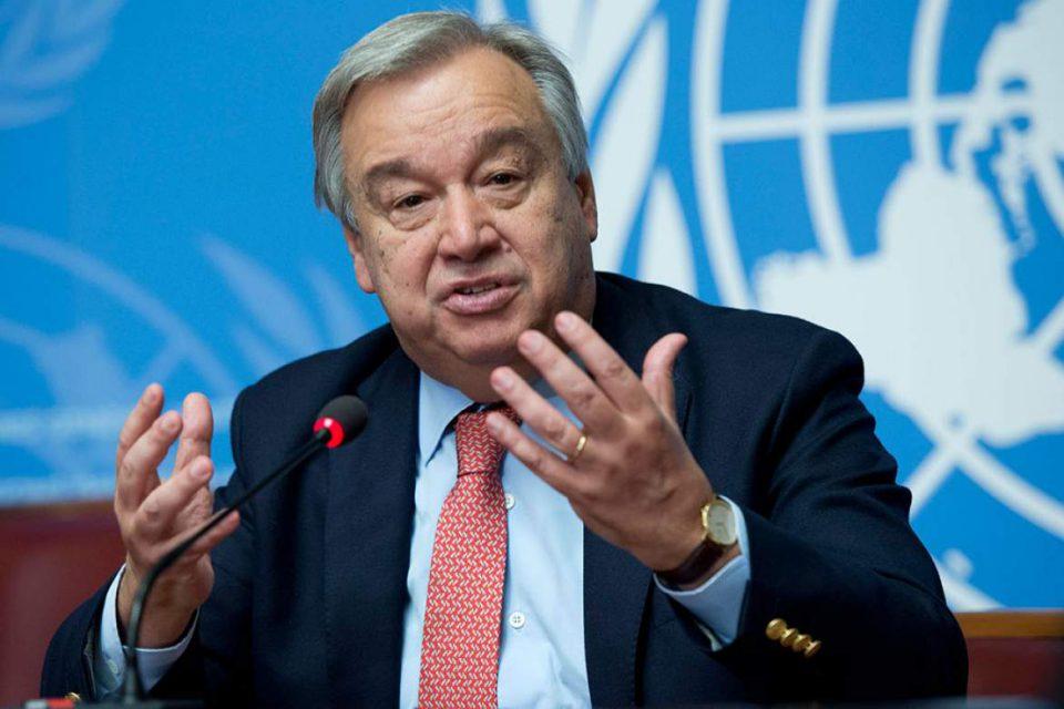 Antonio Guterres, United Nations Secretary General