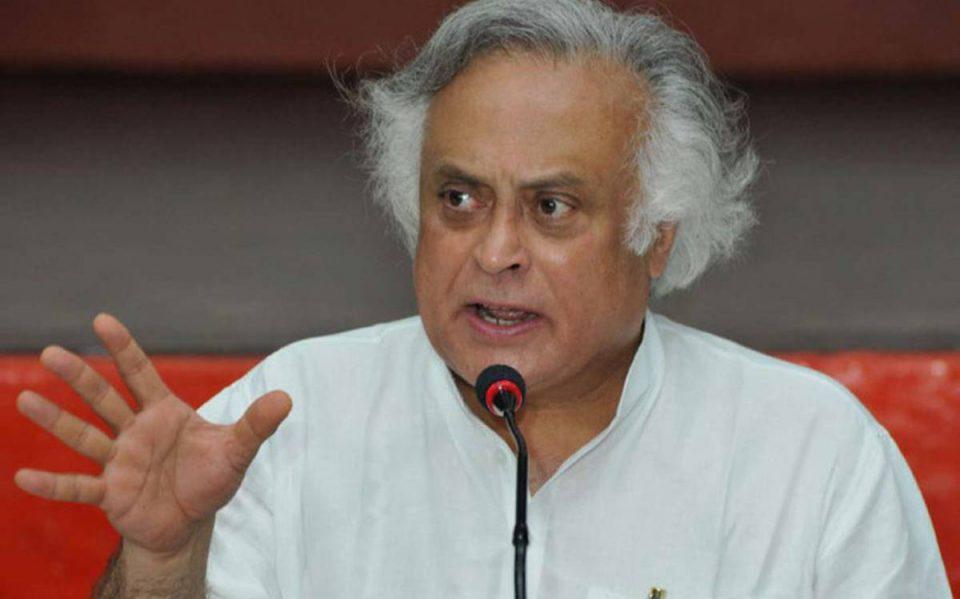 Senior Congress leader Jairam Ramesh