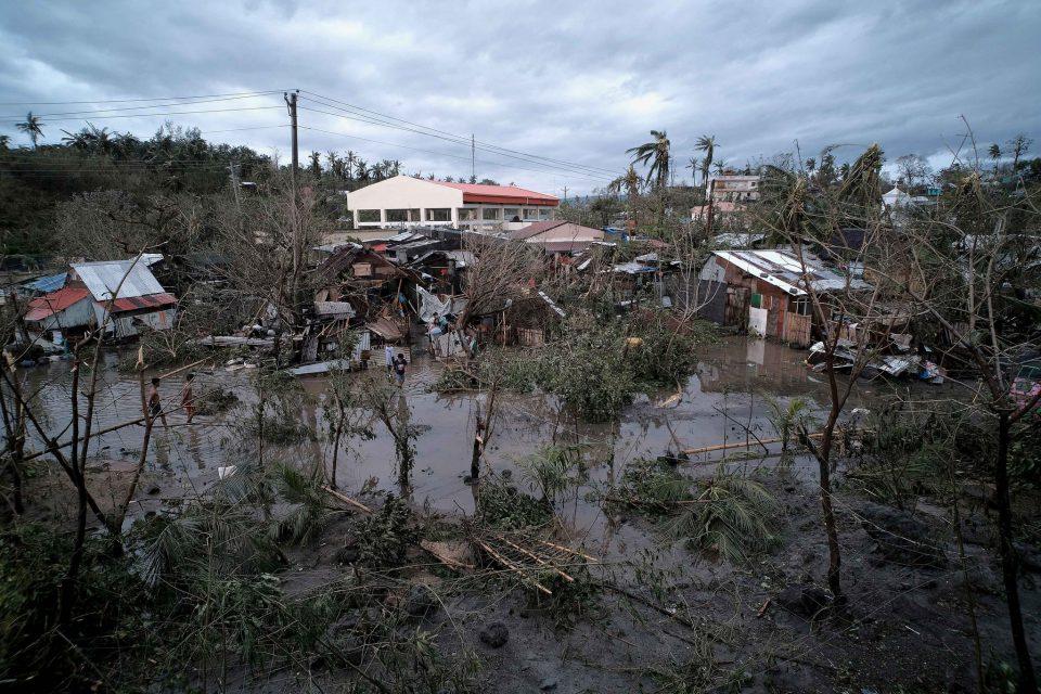 Typhoon Kammuri Strikes Philippines