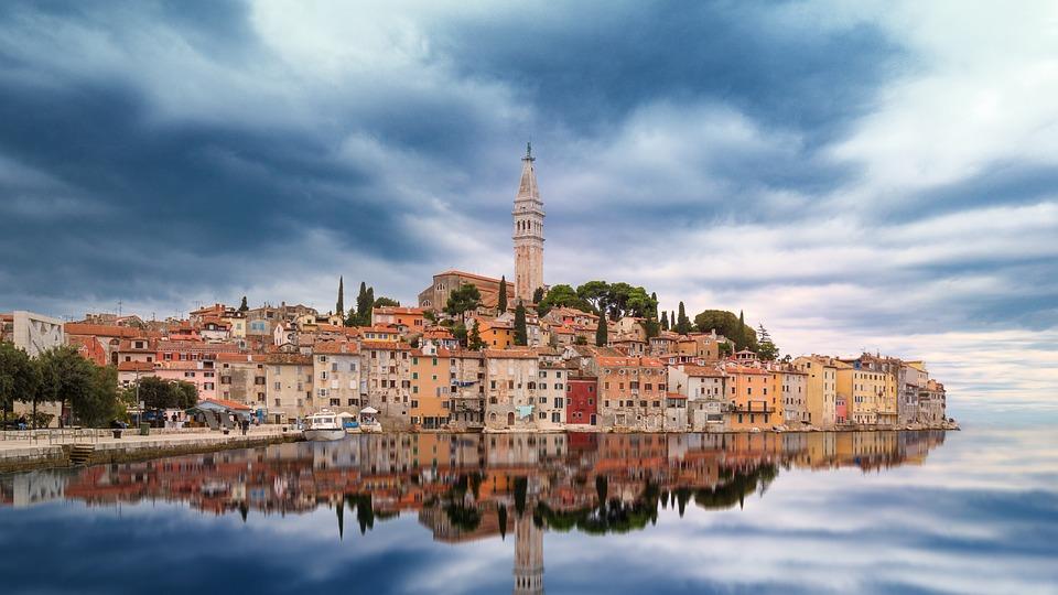 Beautiful city in Croatia
