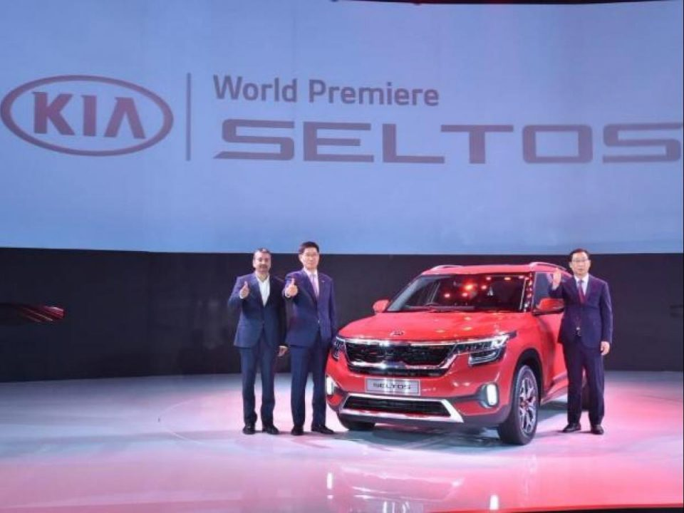 Launch of Seltos premium car by Kia Motors